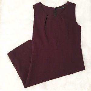 Lafayette 148 New York plum purple mini dress 8